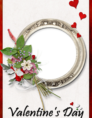 Marco Para Foto Romántica San Valentín Imagen Hermosa 315x405 - Marco Para Foto Romántica San Valentín Imagen Hermosa