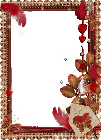 Marco Para Foto Rosas Perfumadas Románticas - Marco Para Foto Rosas Perfumadas Románticas