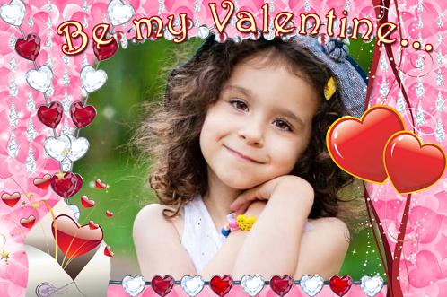 Marco Para Foto Se Mi Amante El Día De San Valentín