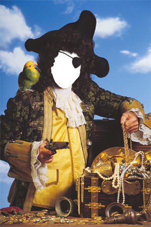 Marco Para Foto Tesoros De Piratas - Marco Para Foto Tesoros De Piratas