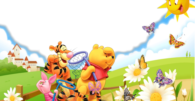 Marco Para Foto Winni Pooh gratis 780x405 - Marco Para Foto Winni Pooh gratis