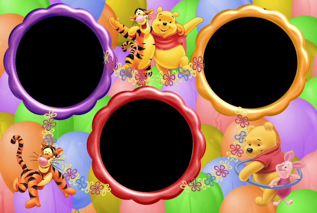 Marco Para Foto Winni Pooh online gratis - Marco Para Foto Winni Pooh online gratis