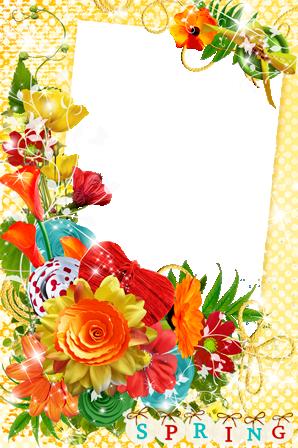 Marco Para Fotos Colores De Primavera - Marco Para Fotos Colores De Primavera
