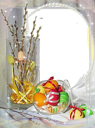 Marco Para Fotos Con Los Huevos De Pascua - Marco Para Fotos Con Los Huevos De Pascua