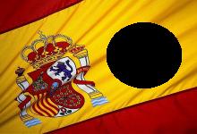 Marco con bandera de españa 220x150 - Marco con bandera de españa