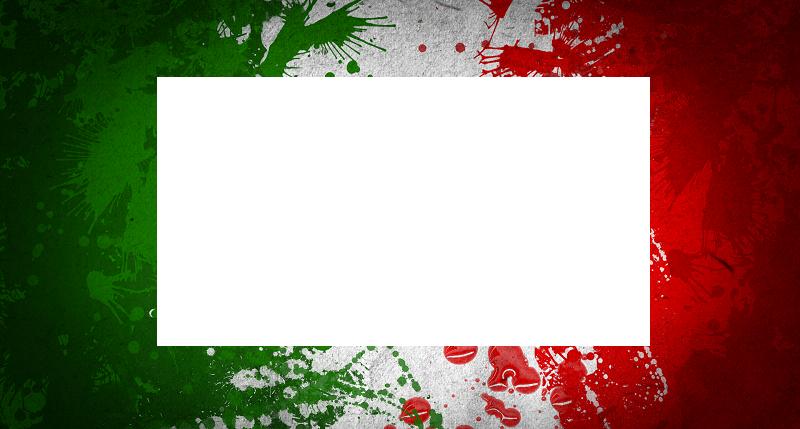 Marco con bandera de mexico - Marco con bandera de mexico