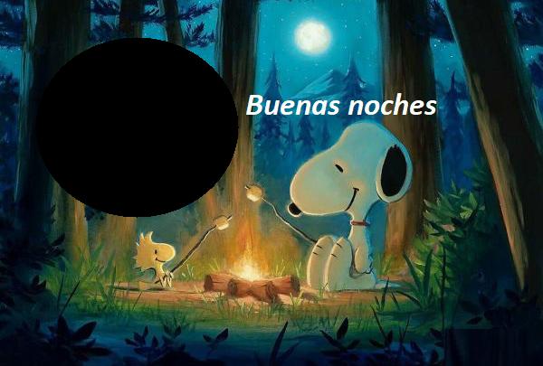 Marco de buenas noches snoopy 600x405 - Marco de buenas noches snoopy