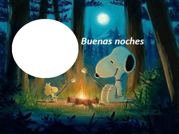 Marco de buenas noches snoopy - Marco de buenas noches snoopy