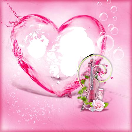 Se elevó al corazón rojo más hermoso con gran amor