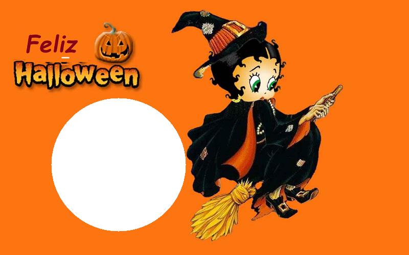 Feliz Halloween Macro de Betty Boop - Feliz Halloween Macro de Betty Boop
