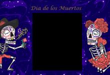 Marco de Dia de los Muertos 220x150 - Marco de Dia de los Muertos