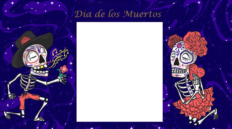 Marco de Dia de los Muertos - Marco de Dia de los Muertos
