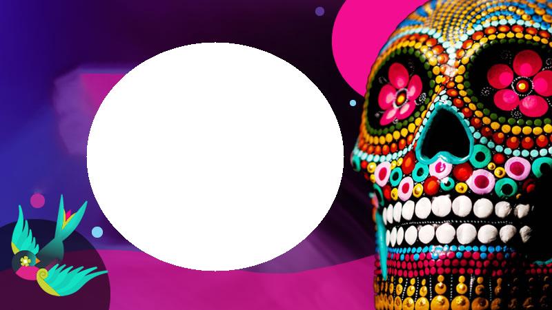 Marco de día de muertos - Marco de día de muertos
