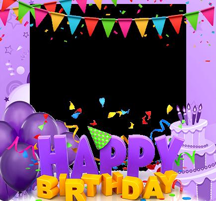 Marco Para Foto Feliz cumpleaños con pastel 435x405 - Marco Para Foto Feliz cumpleaños con pastel