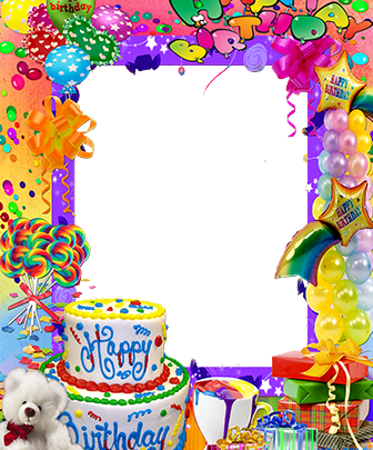 Marco Para Foto La fiesta de feliz cumpleaños más hermosa 336x405 - Marco Para Foto La fiesta de feliz cumpleaños más hermosa