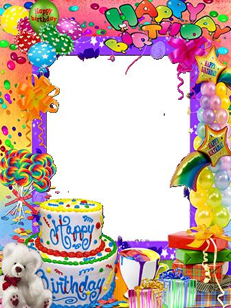 Marco Para Foto La fiesta de feliz cumpleaños más hermosa