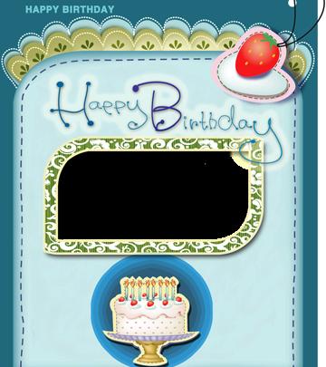 Marco Para Foto La tarjeta y el marco de cumpleaños más bonitos con una tarta 360x405 - Marco Para Foto La tarjeta y el marco de cumpleaños más bonitos con una tarta