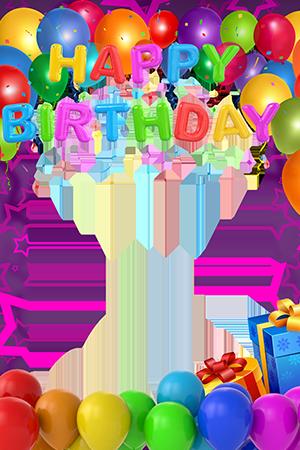 Marco Para Foto Los mejores globos y regalos de feliz cumplea%C3%B1os - feliz cumpleaños Marcos para fotos