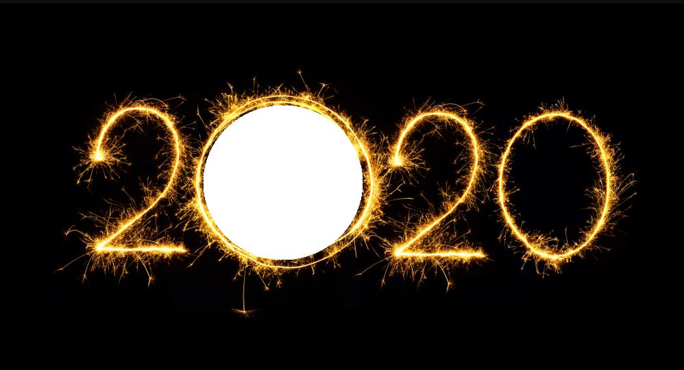 Marco de Año nuevo 2020 - Marco de Año Nuevo 2020