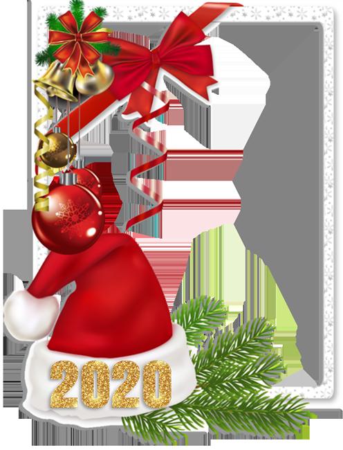 Celebraciones De Año Nuevo 2020 Marco Para Foto - Celebraciones De Año Nuevo 2020 Marco Para Foto