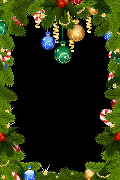 Frontera del marco de navidad - Frontera del marco de navidad