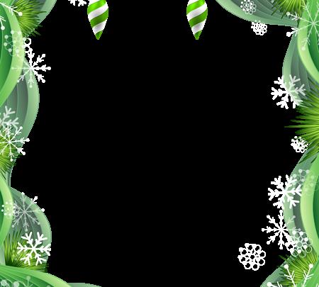 Imagen de imágenes prediseñadas de marco verde de Navidad 450x405 - Imagen de imágenes prediseñadas de marco verde de Navidad