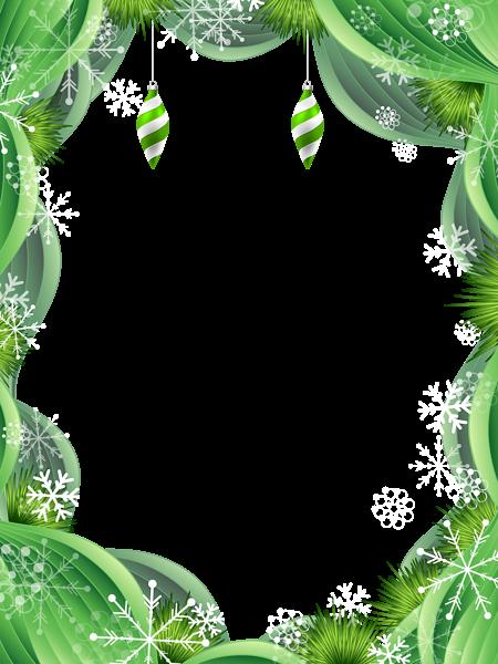 Imagen de imágenes prediseñadas de marco verde de Navidad - Imagen de imágenes prediseñadas de marco verde de Navidad