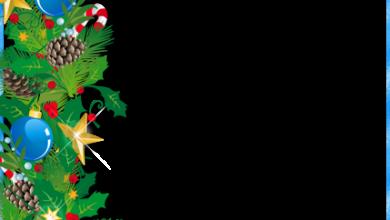 Marco de fotos de Navidad con adornos 390x220 - Marco de fotos de Navidad con adornos