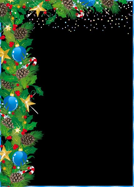 Marco de fotos de Navidad con adornos - Marco de fotos de Navidad con adornos