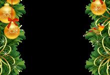 Marco de fotos de Navidad con bolas de Navidad doradas 220x150 - Marco de fotos de Navidad con bolas de Navidad doradas