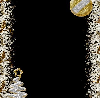 Marco de fotos de Navidad de plata brillante 410x405 - Marco de fotos de Navidad de plata brillante