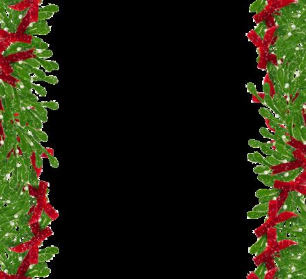 Marco de fotos de Navidad verde 445x405 - Marco de fotos de Navidad verde