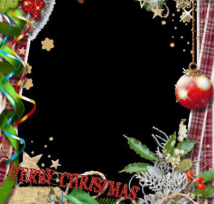 Marco de fotos de feliz Navidad con lazo verde 424x405 - Marco de fotos de feliz Navidad con lazo verde