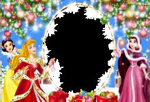 Marco de fotos de navidad para niños con princesas 220x150 - Marco de fotos de navidad para niños con princesas