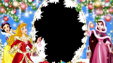 Marco de fotos de navidad para niños con princesas 390x220 - Marco de fotos de navidad para niños con princesas