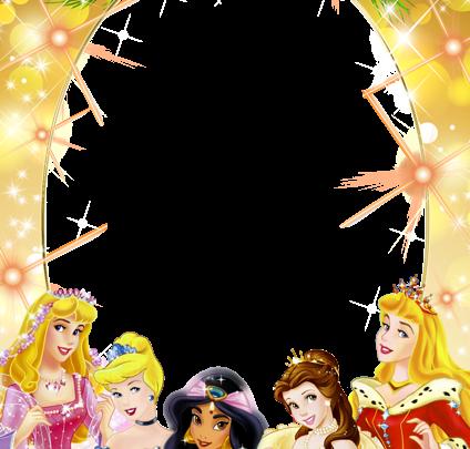 Marco infantil con princesas navideñas 424x405 - Marco infantil con princesas navideñas