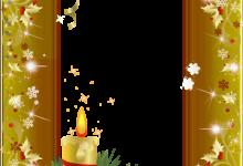 marco de fotos de navidad de oro 220x150 - marco de fotos de navidad de oro