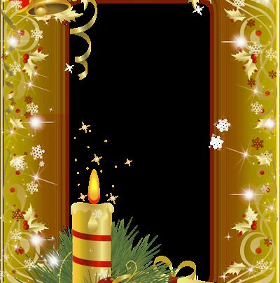 marco de fotos de navidad de oro 400x405 - marco de fotos de navidad de oro
