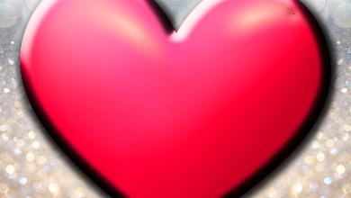 3D Corazón Marcos de Amor 1 390x220 - 3D Corazón Marcos de Amor