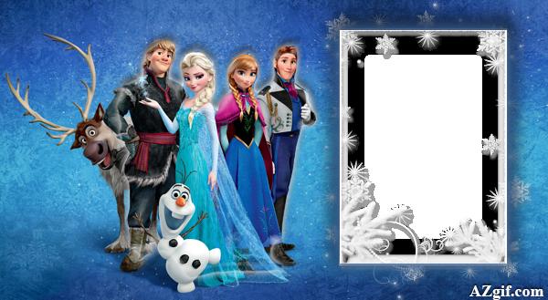 3D Frozen Marco De Foto - 3D Frozen Marco De Foto