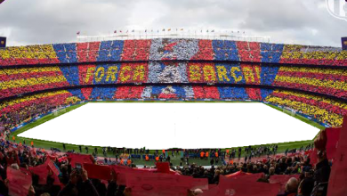 Photo of Camp Nou Marcos de foto