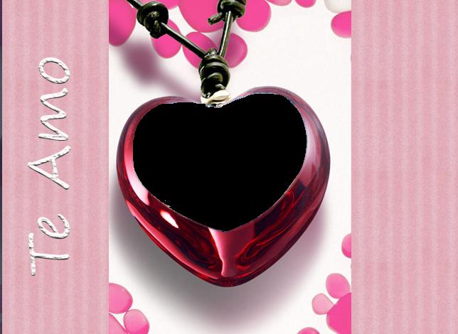 amor corazon marco de foto 644x470 - amor corazon marco de foto