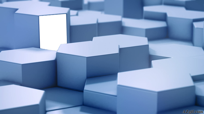 el cubo 3D Marcos para foto - el cubo 3D Marcos para foto