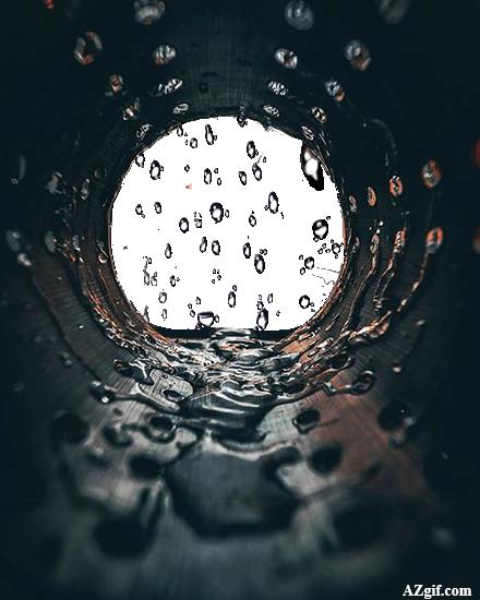 gotas de agua marco de fotos - gotas de agua marco de fotos