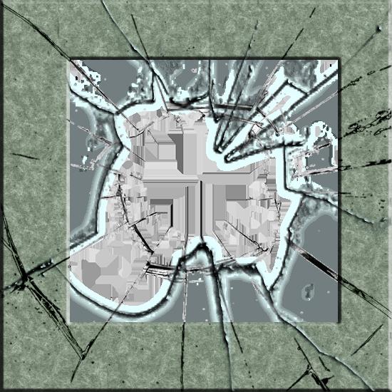 marco de fotos de vidrio roto 2 - marco de fotos de vidrio roto 2