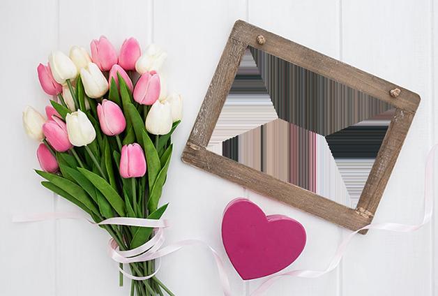 rosas encantadoras marco de foto - rosas encantadoras marco de foto