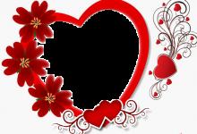 Marco de regalo de corazón con rosas para el día de San Valentín 220x150 - Marco de regalo de corazón con rosas para el día de San Valentín