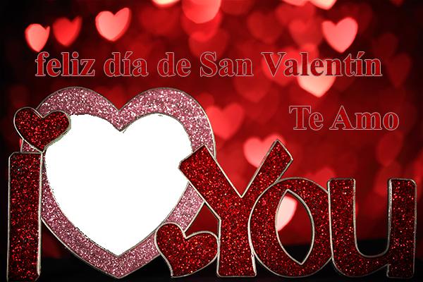 feliz día de san valentín corazón marco - feliz día de san valentín corazón marco
