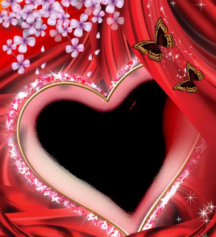 beauty butterfly romantic photo frame 429x470 - beauty butterfly romantic photo frame