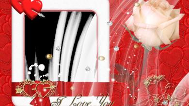 beauty red card romantic photo frame 390x220 - beauty red card romantic photo frame